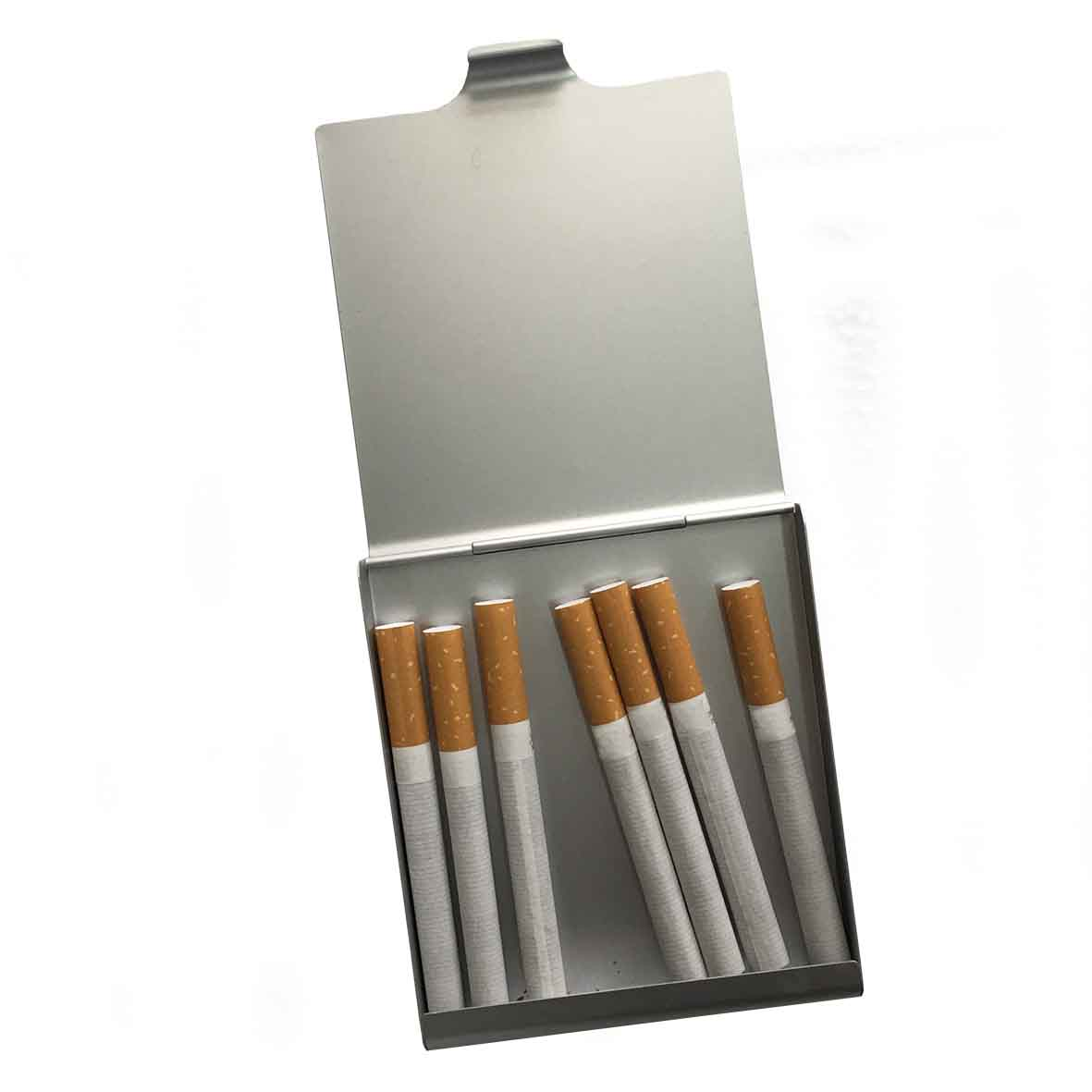 Keyholder 'House' in aluminium cigarette case al-100