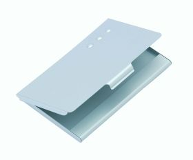 Aluminium card holder al-40