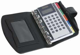 5'' Organizer with calculator bo-85