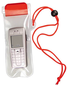 Waterproof mobile phone holder - Red cr-015 r