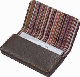 Elegant business card holder -  Brown cr-026 br