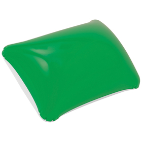 Inflatable beach pillow / green cr-200 g