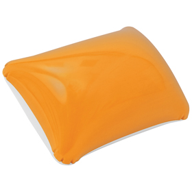 Inflatable beach pillow / orange cr-200 or