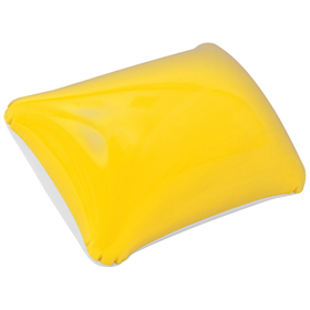 Inflatable beach pillow / yellow cr-200 y