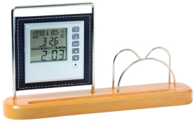 Calendar clock with card holder dc-970