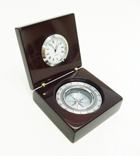 ELEGANT CLOCK AND COMPASS exe-20