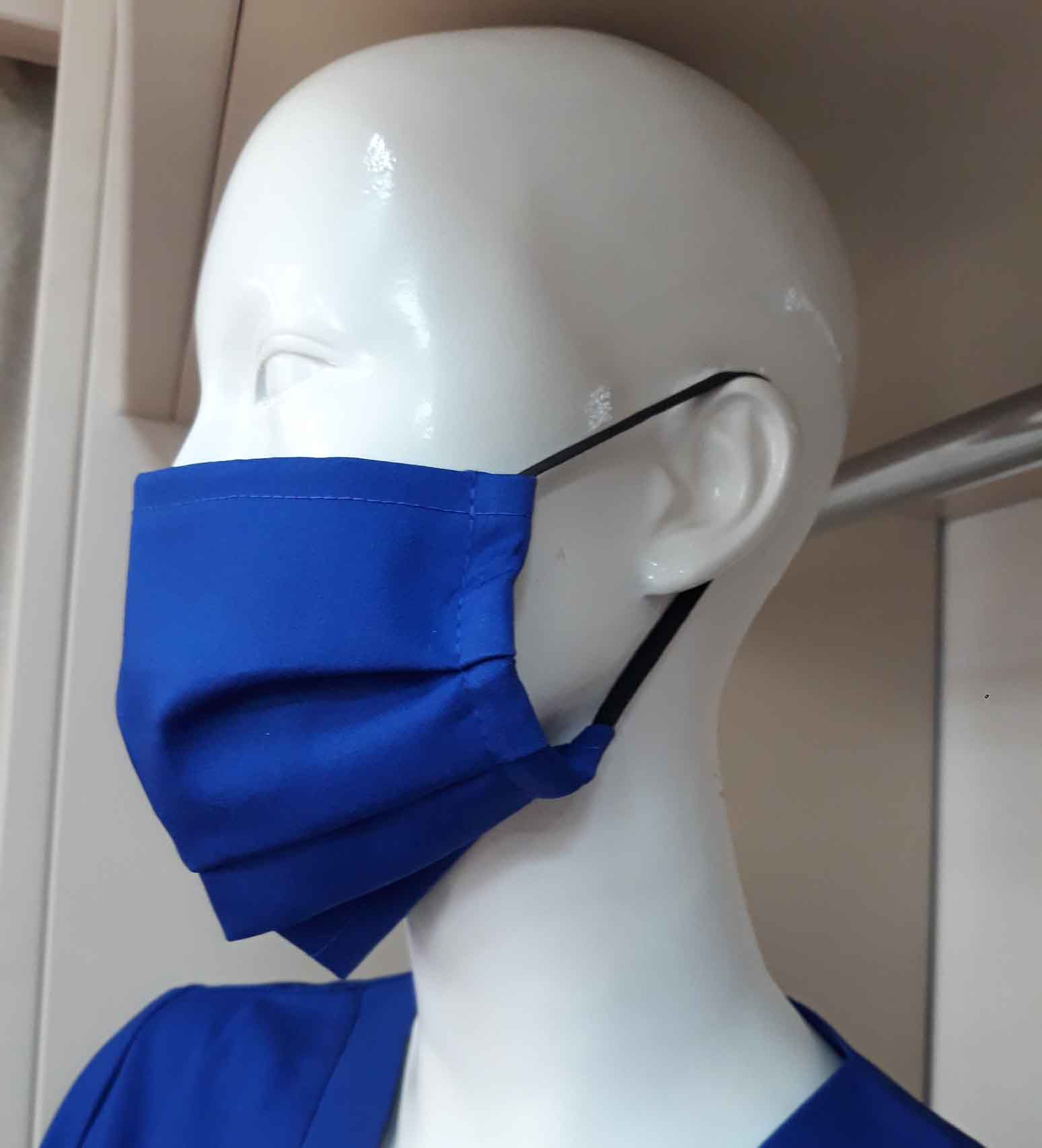 Cotton face mask with two layers fz-30 az