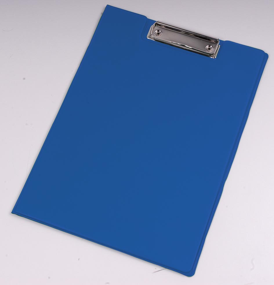 A4 Clipboard folder PVC - royal blue gb-210 az