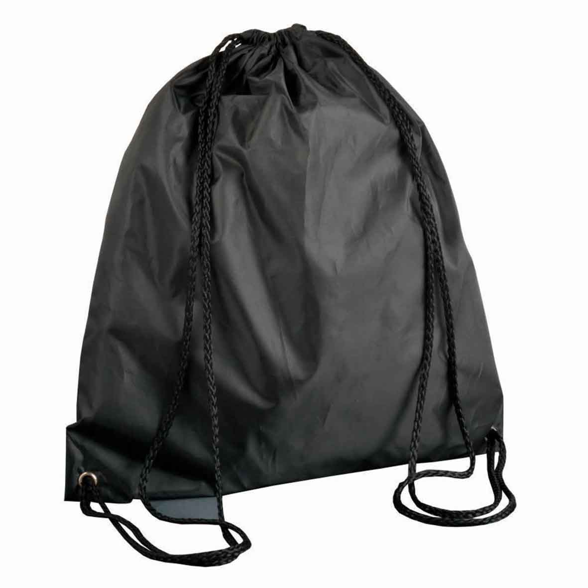 210T POLYESTER DRAWSTRING BACKPACK gb-286 bk