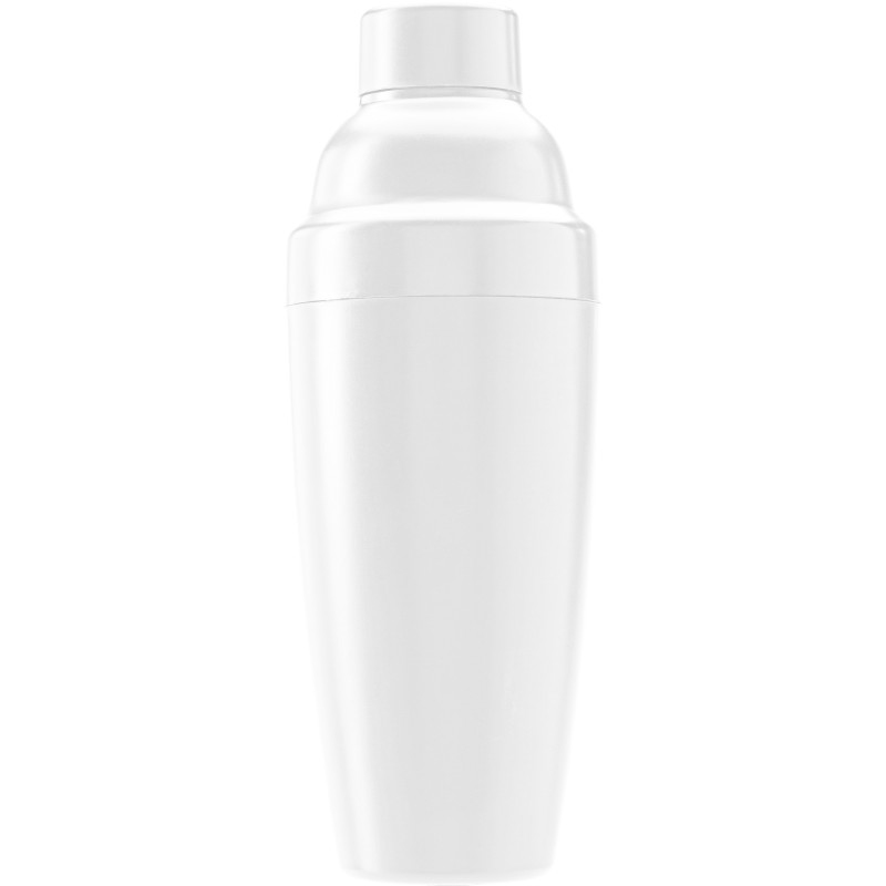 3 pieces plastic cocktail shaker - White giv-307002