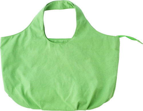 Cotton beach bag - Light green giv-433829