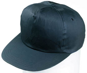 5 panel cotton cap / navy blue h-6 bl