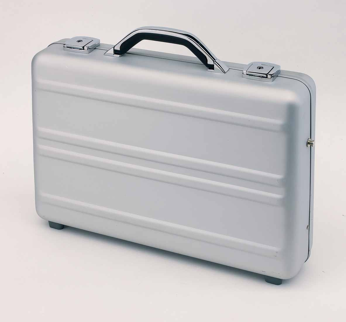 Executive aluminium briefcase 'Cyber' - silver ins-0201604