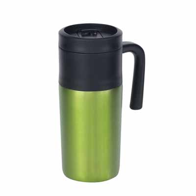 "Double-walled travel mug ""Grab and go"" ins-0304102"