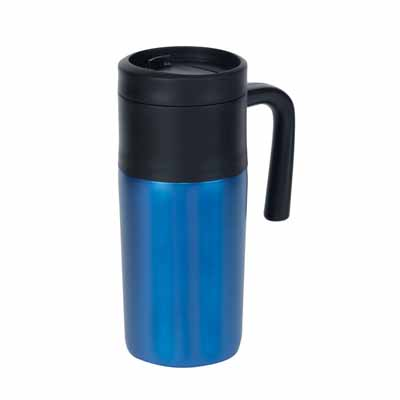"Double-walled travel mug ""Grab and go"" ins-0304103"