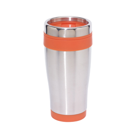 "DOUBLE-WALLED STAINLESS STEEL MUG ""LUNGO"" ins-0304128"