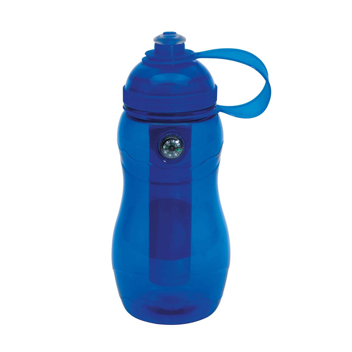 Drinking bottle 'On track' - Blue ins-0304195