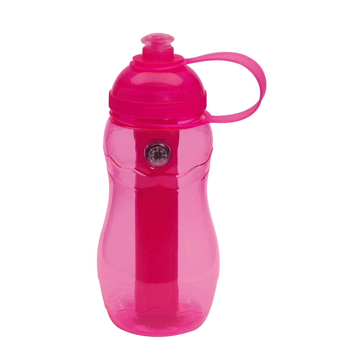 Drinking bottle 'On track' - Pink ins-0304199