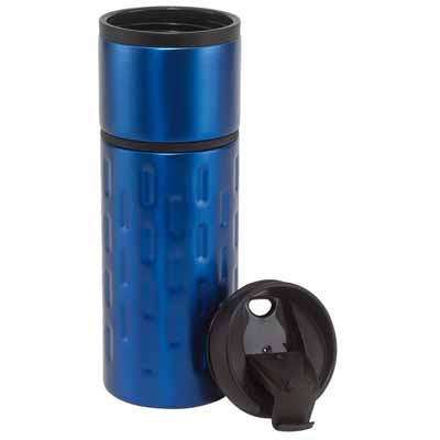 "Double-walled travel mug ""Exclusive liquid"" ins-0304212"