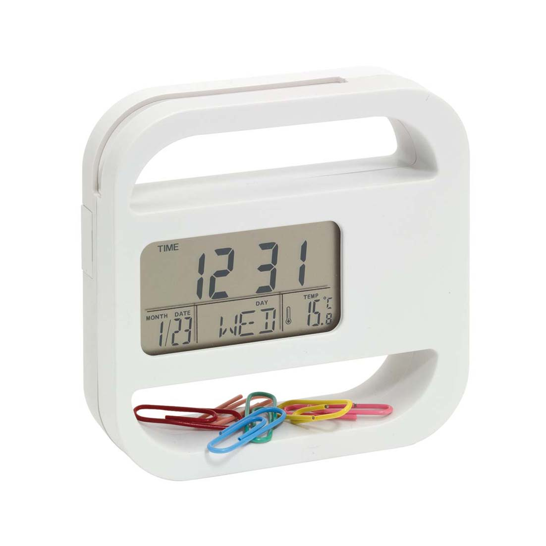 Digital clock 'Helpdesk' ins-0401338