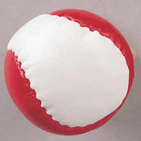 ANTI STRESS BALL 'JUGGLE' R/W  ins-0402102