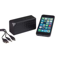 "Bluetooth speaker ""Cuboid""-  Black ins-0406211"