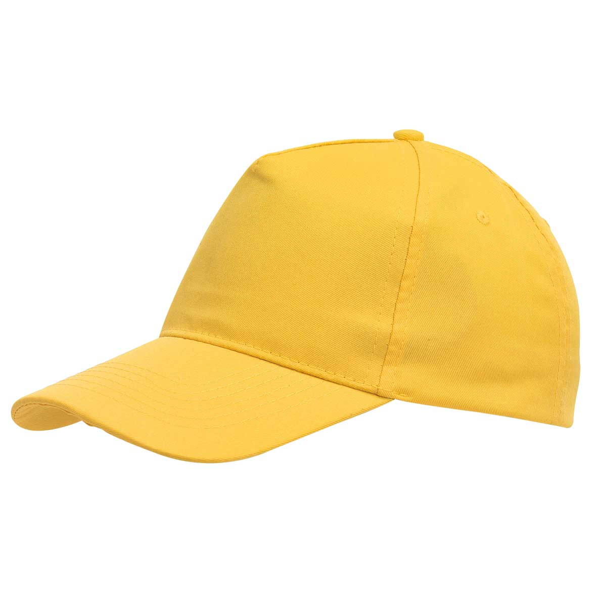 5 panel cap 'Favourite' - Yellow ins-0702053