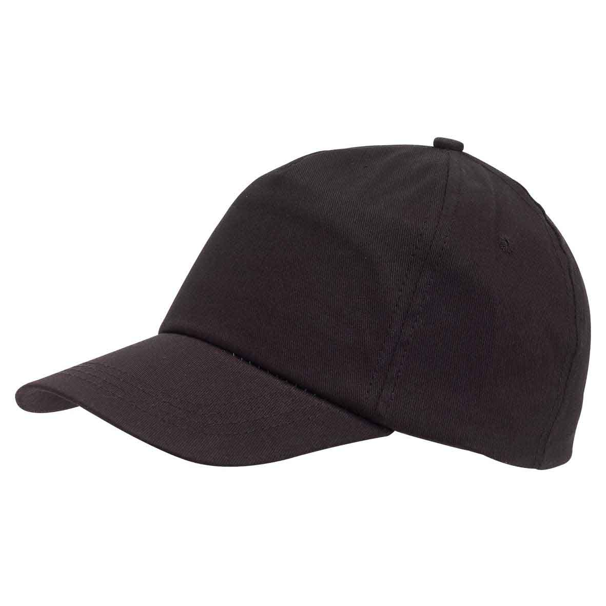 5 panel cap 'Favourite' - Black ins-0702055
