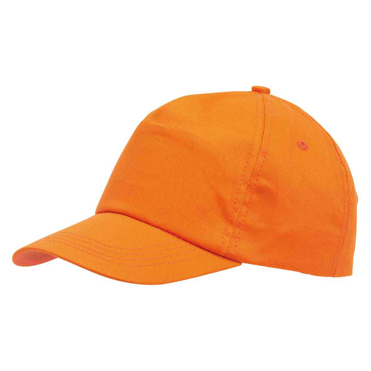 5 panel cap 'Favourite' - Orange ins-0702058