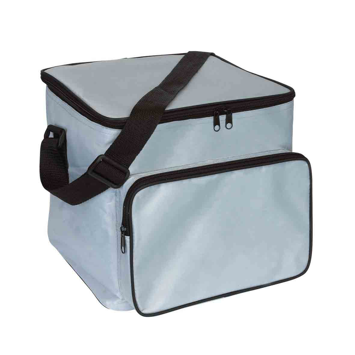 Cooler bag 'Ice' - Silver Grey ins-0801124