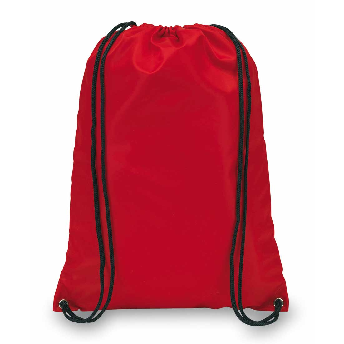 "210D polyester drawstring backpack ""Town"". - red ins-0819538"