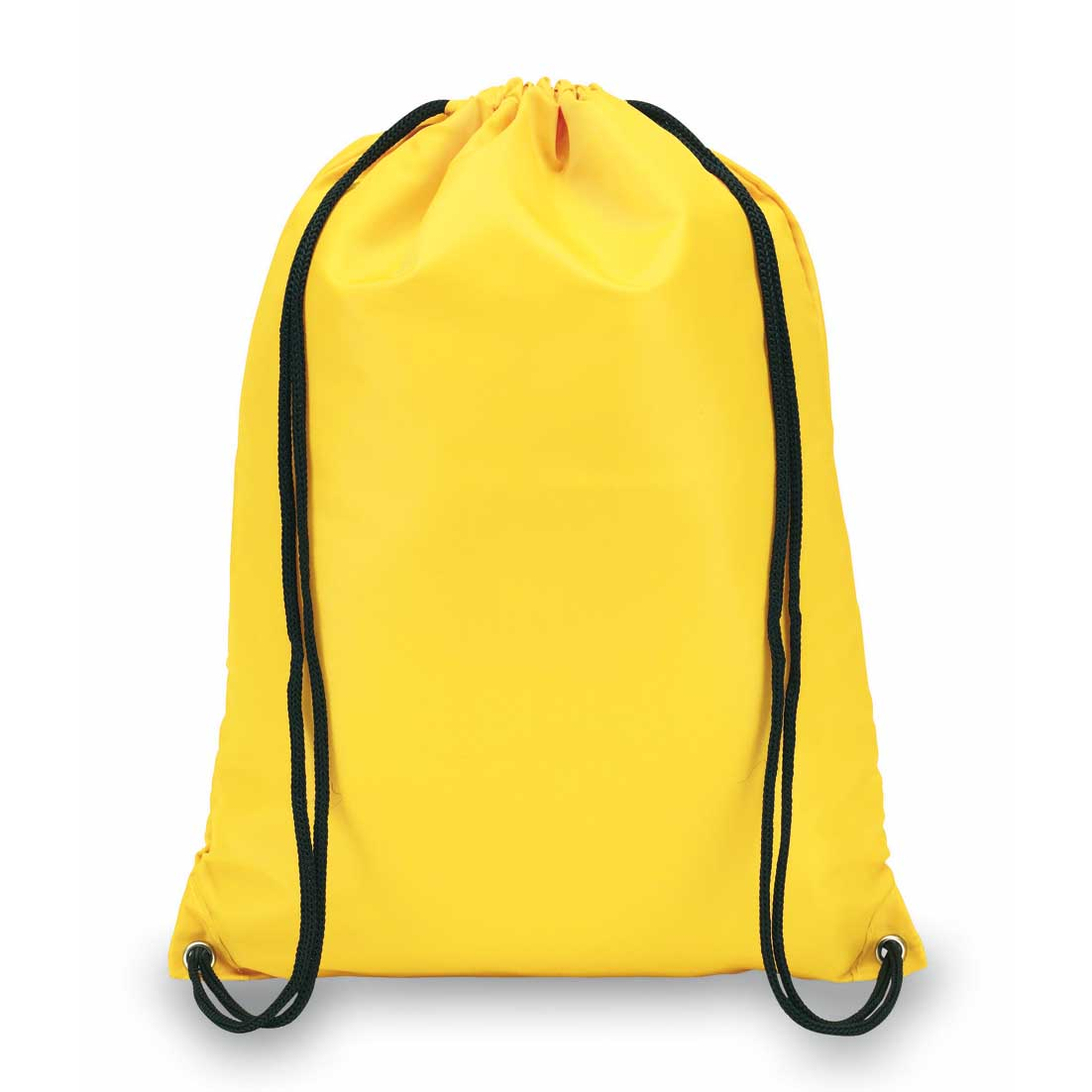 "210D polyester drawstring backpack ""Town"". - yellow ins-0819542"