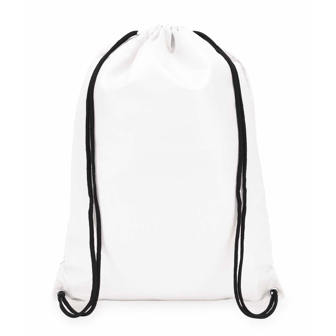 "210D polyester drawstring backpack ""Town"". - white ins-0819543"