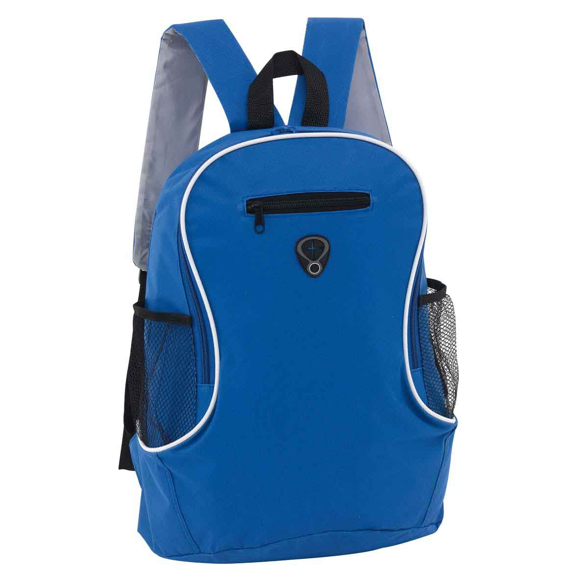Backpack 'Tec' - Black/Royal Blue ins-0819577