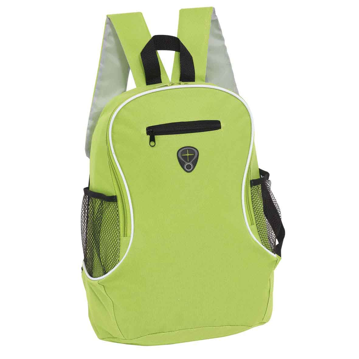 Backpack 'Tec' - Black/Light Green ins-0819578
