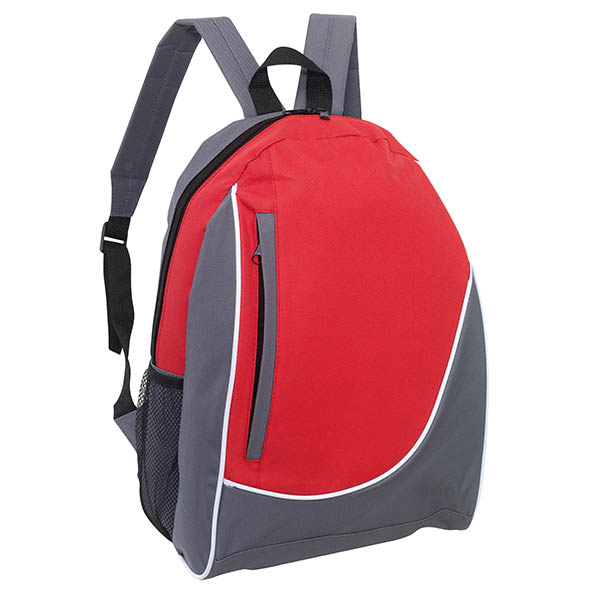 "Backpack ""Pop"" - Grey / Red ins-0819582"
