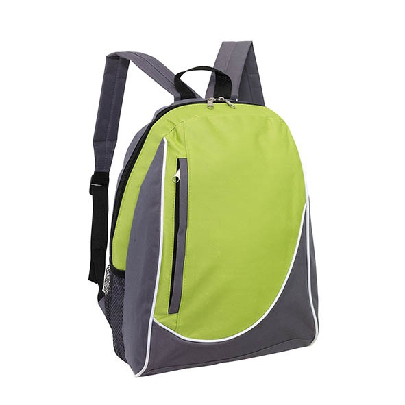 "Backpack ""Pop"" - Grey / Apple Green ins-0819583"