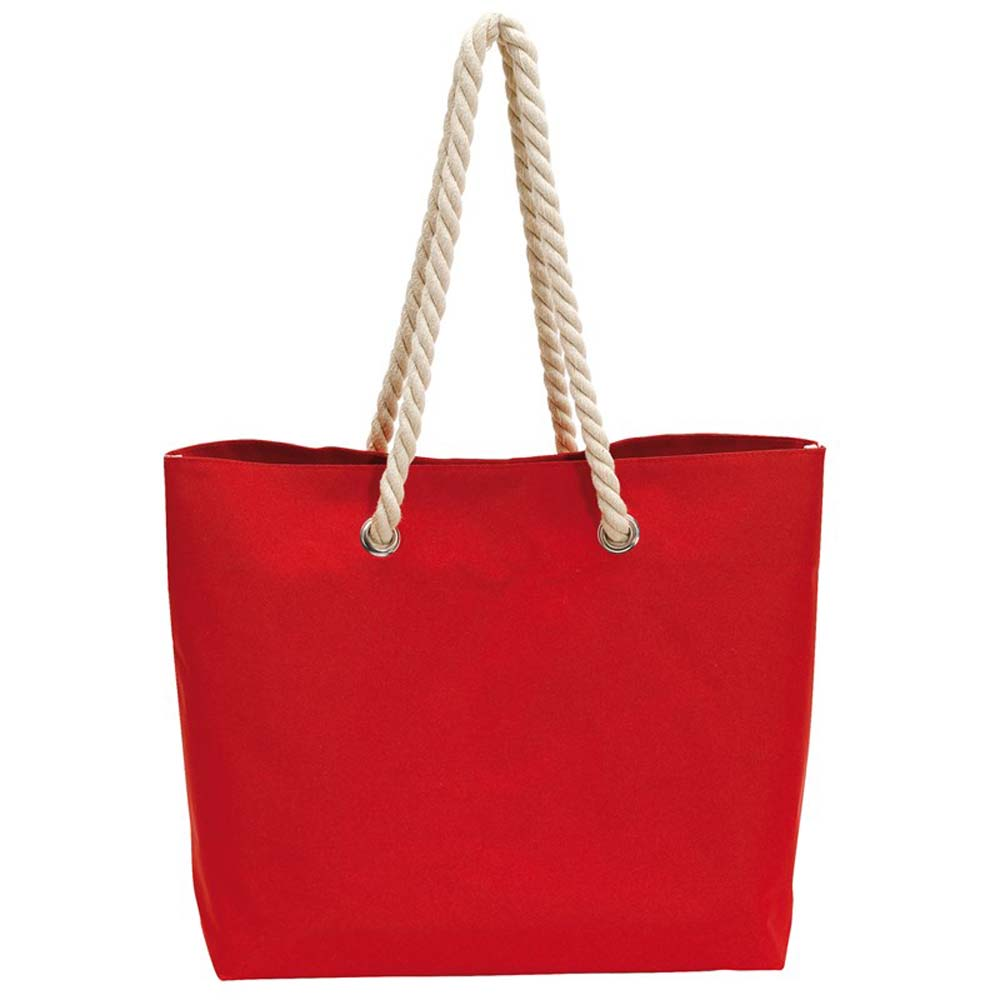 Beach bag 'Capri' - Red ins-0820564