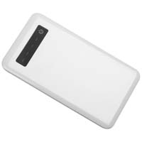Powerbank with a capacity of 5000 mAh and micro USB cable. - White mac-2033806