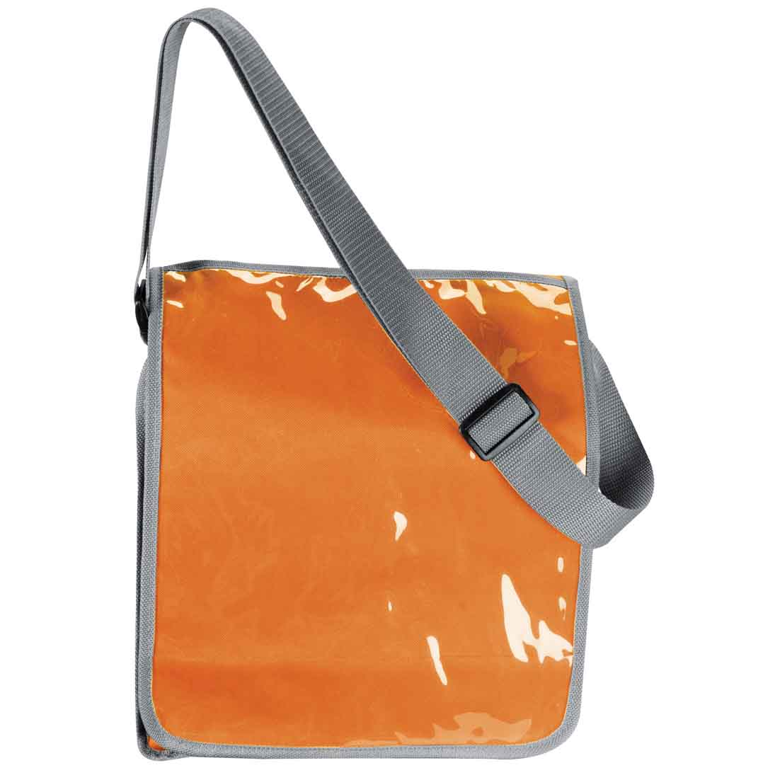 600D polyester shoulder bag - orange mac-2810910