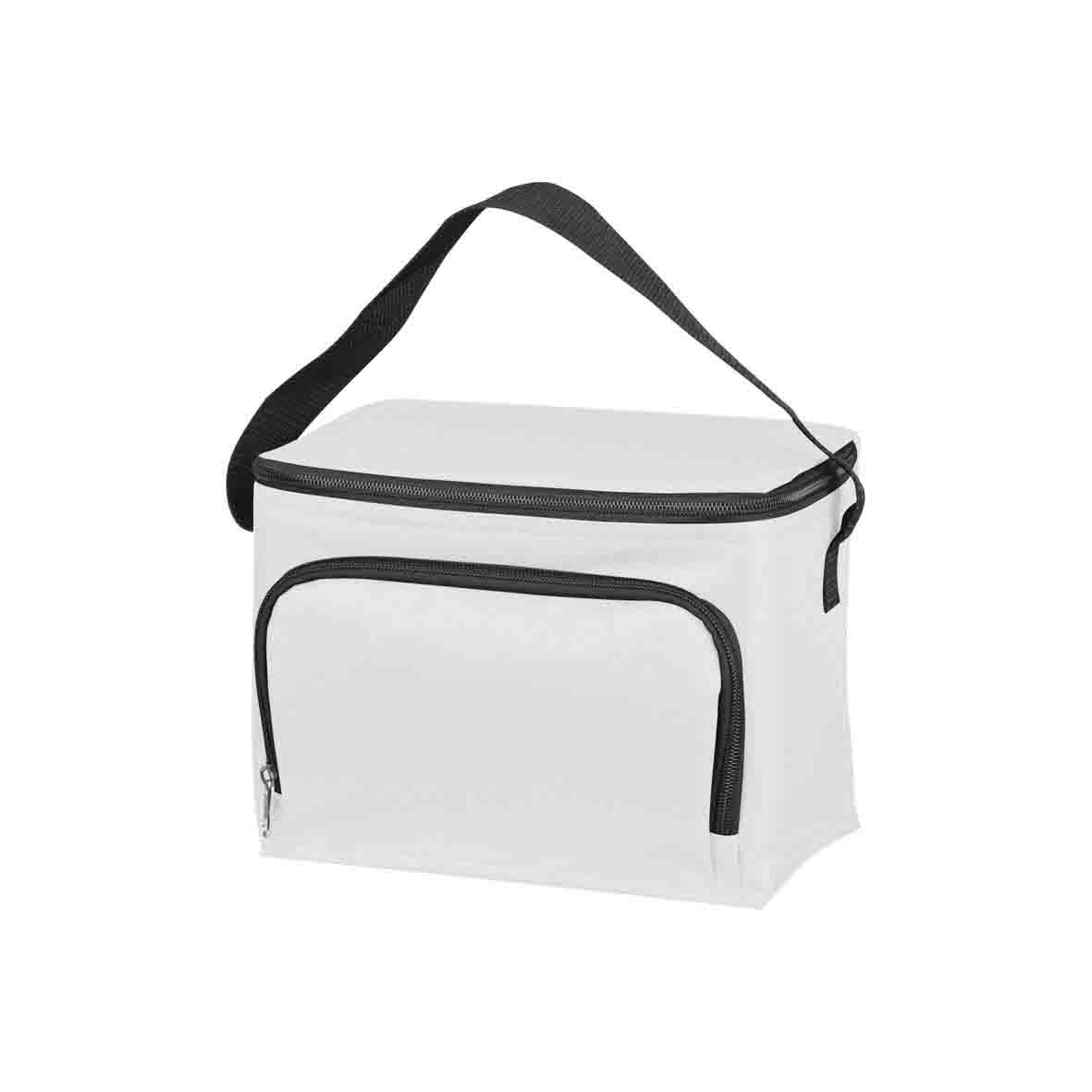 210D polyester cooler bag - White mac-6832106