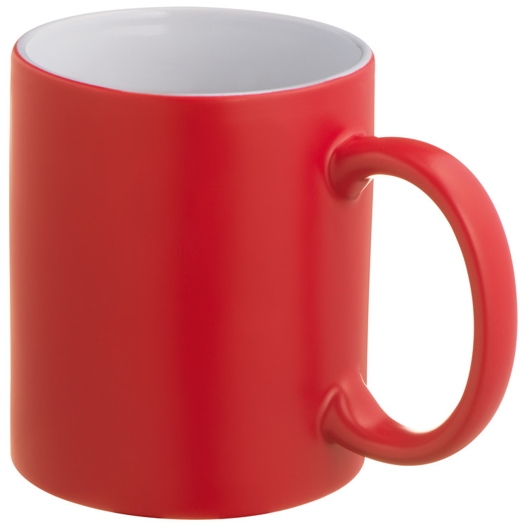 Colour changing mug - Red mac-83433805