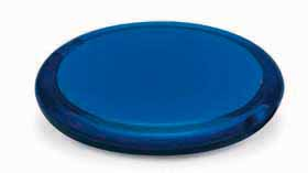 double compact mirror - blue mb-043 bl