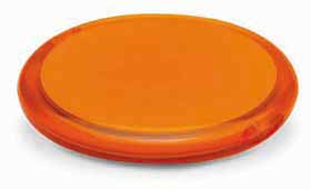 double compact mirror - orange mb-043 or