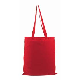 Cotton shopping bag - red mb-10r