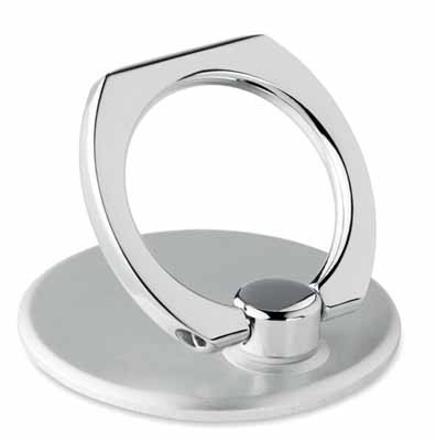 Aluminium phone ring holder with stand. mb-19007