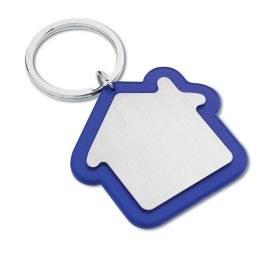 House shaped keyring - blue mb-80bl