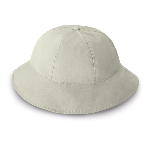 6 panel safari hat - Beige mk-128 be