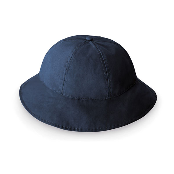 6 panel safari hat - Blue mk-128 bl