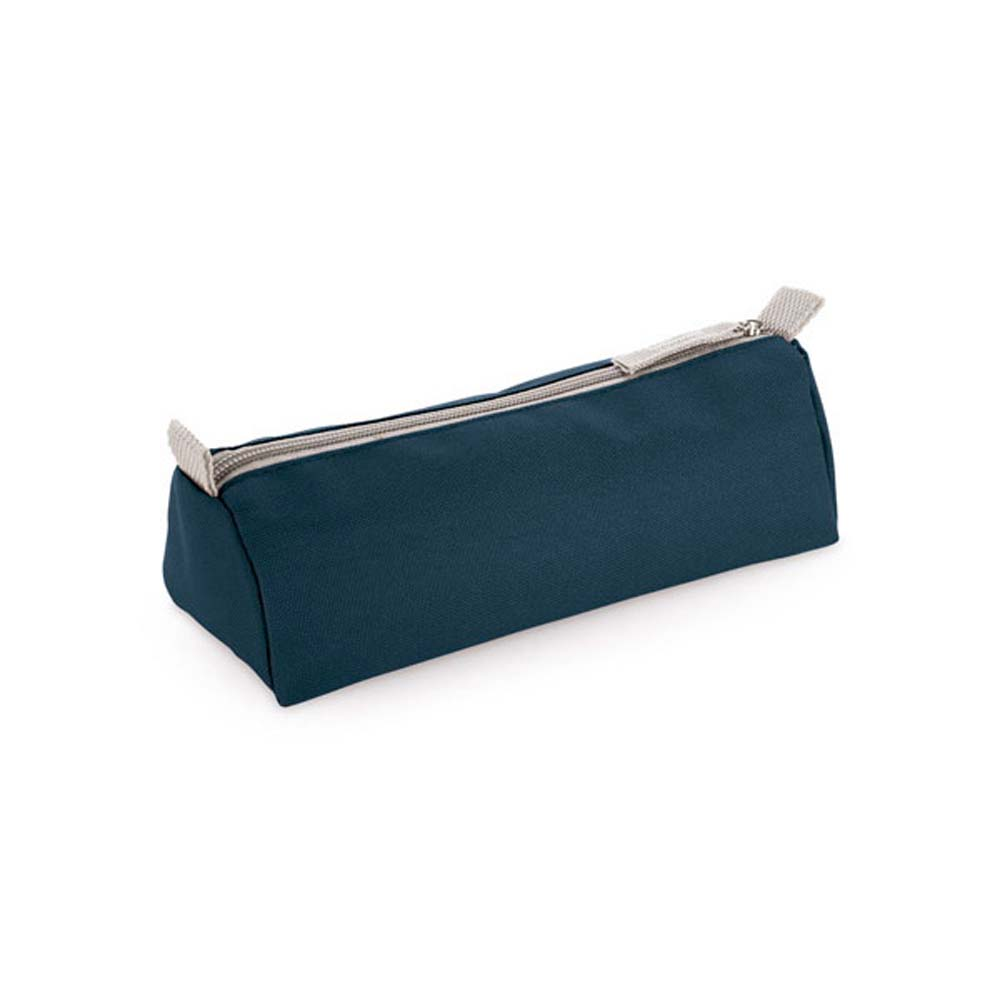 600D polyester pencil case - Blue mk-157 bl